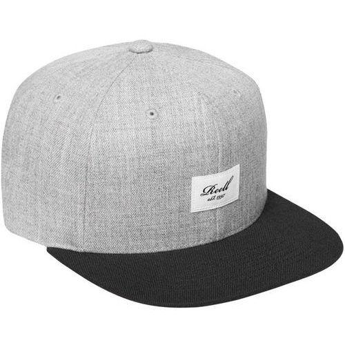 czapka z daszkiem REELL - Pitchout 6-Panel Cap Hth.Y.Grey Black (HTH.Y.GREY BLACK), kolor czarny