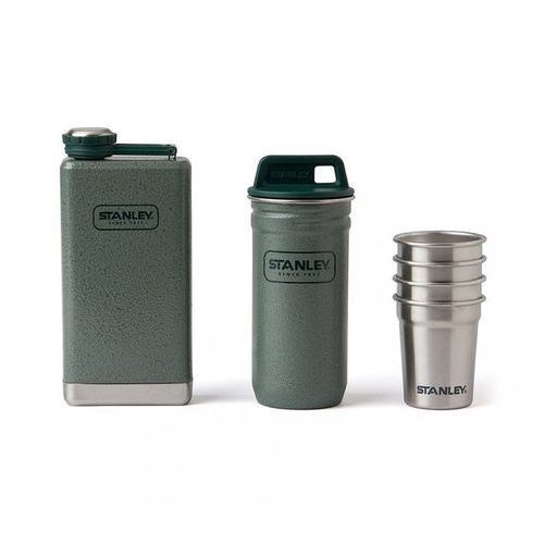 Stanley Zestaw adventure steel shots + flask gift set (zielony)