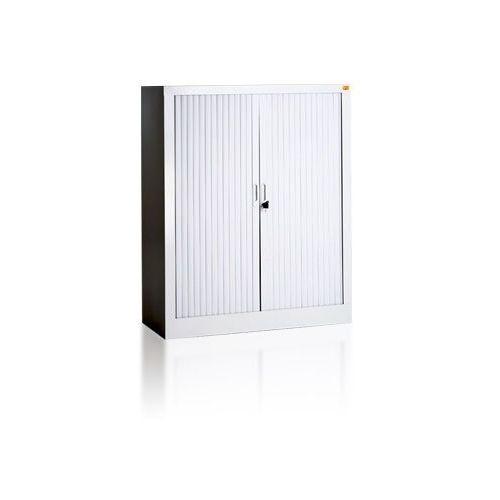 Nadstawka do szafy biurowej z drzwiami żaluzjowymi bż/4 | , bżn/1 marki Kart-map
