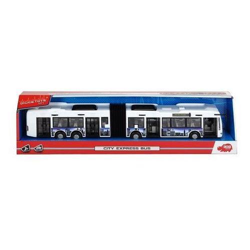 Autobus City Express 46 cm biało-niebieski, 203748001/203748001b (6021535)