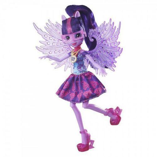 Mlp lalka kryształowe skrzydła, twilight marki Hasbro