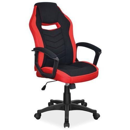 Fotel obrotowy camaro czarny/czerwony marki Signal meble