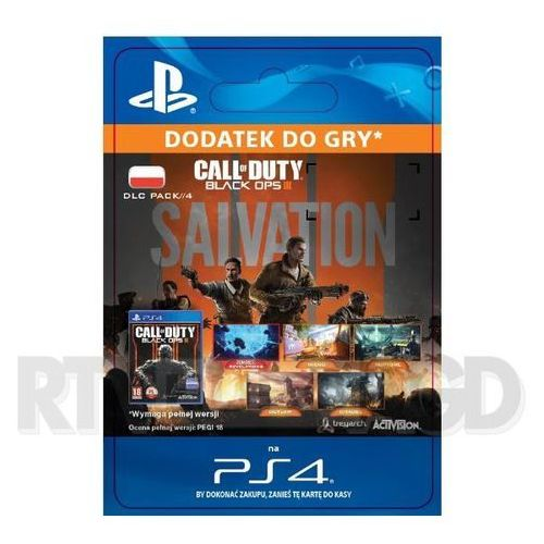 Call of Duty: Black Ops III - Salvation DLC [kod aktywacyjny]