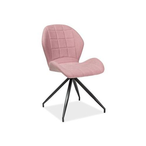 Signal Krzesło - hals ii - różowy materiał - loft