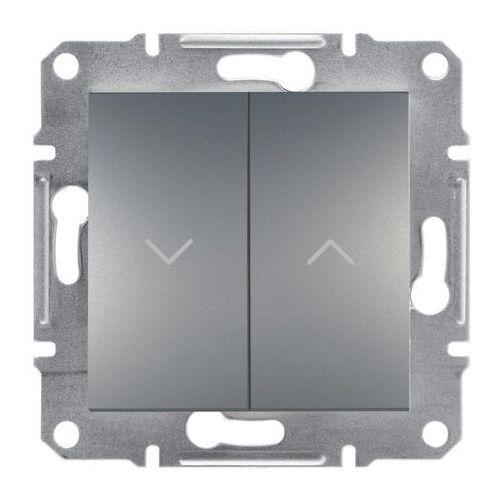Schneider electric Przycisk żaluzjowy asfora stal (3606480730245)