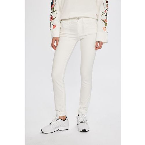 - jeansy rise skinny marki Calvin klein jeans