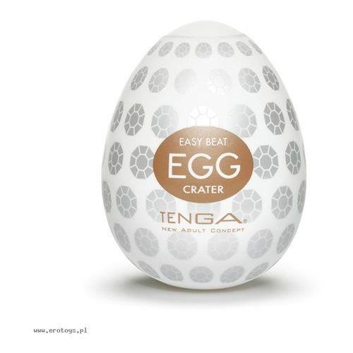 Tenga  egg easy ona cap crater brown masturbator jednorazowy w kształcie jajka brązowy 1 sztuka (4560220551448)