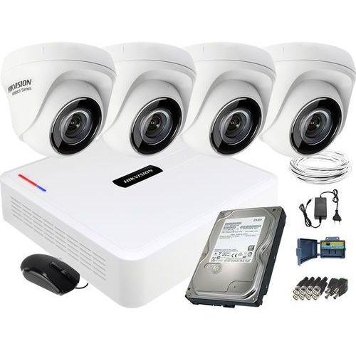 Hikvision hiwatch Zestaw do monitoringu hikvision 4 kamerowy hiwatch hd