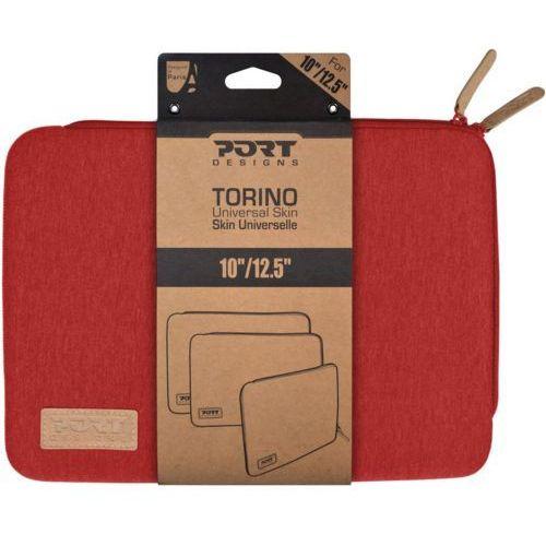 """Etui PORT DESIGNS Torino na laptopa 10-12"""" czerwona, kolor czerwony"""