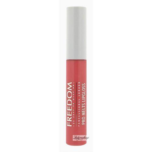 - pro melts liquid lipstick - błyszczyk do ust - debut marki Freedom