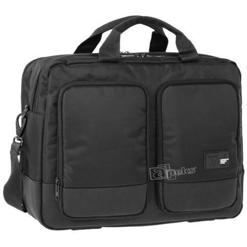 """Roncato Princeton torba na laptop 15,6"""" / tablet 10'', kolor czarny"""