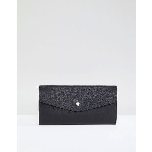 foldover purse - black marki French connection