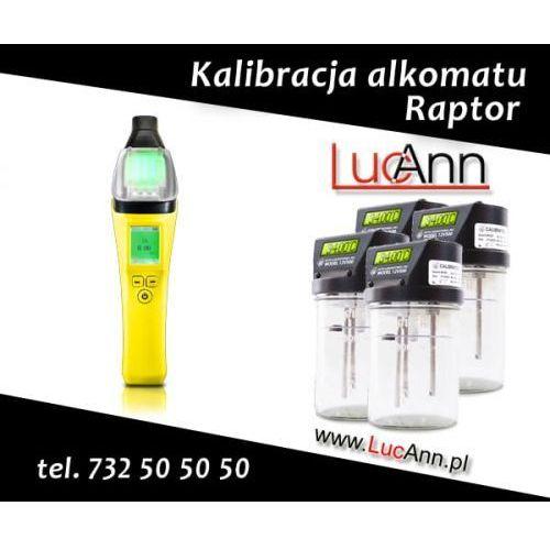 Kalibracja alkomatu Raptor AT7000 + Świadectwo kalibracji