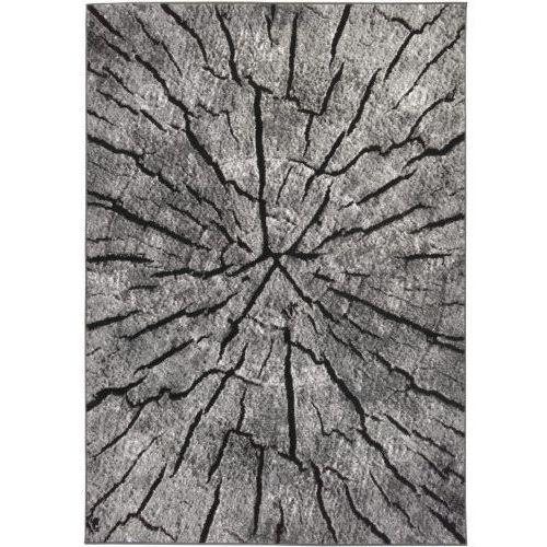 Dywan szary KOMFORT ALMA 04 240x330 pień drzewo, ALM04-240x330