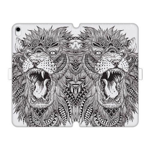 Apple iPad Pro 11 - etui na tablet Wallet Book Fantastic - lew indiański