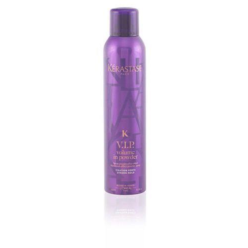 k pudrowy spray nadający efekt tapirowanych włosów do 24 godziny v.i.p. volume in powder (backcomb effect powder spray - strong hold) 250 ml marki Kérastase