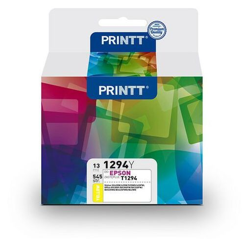Tusz printt do epson nae1294y (t1294) yellow 13 ml marki Ntt system