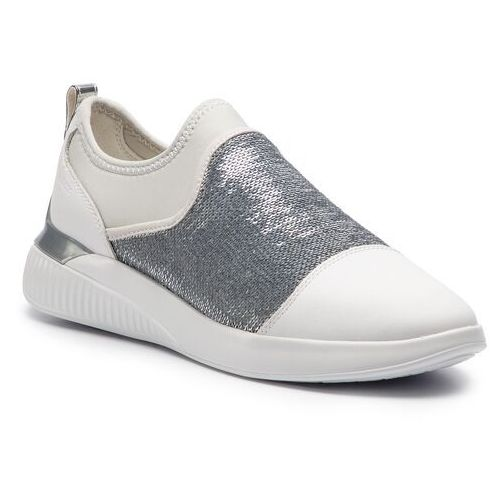Sneakersy - d theragon a d848sa 085at c0007 white/silver, Geox, 35-41