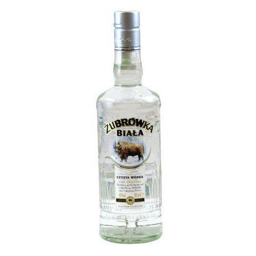 OKAZJA - Polmos białystok Wódka żubrówka biała 0,5 l