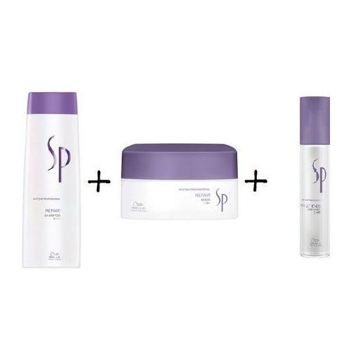 SP REPAIR SZAMPON 250ML + MASKA 200ML + PERFECT ENDS ODBUDOWA KOŃCÓWKI - produkt z kategorii- Mycie włosów