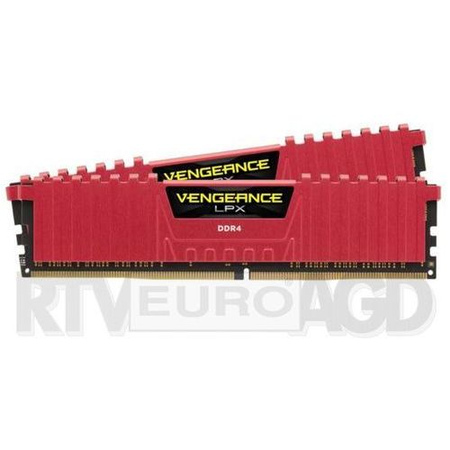 Corsair Vengeance Low Profile DDR4 2 x 8GB 3000 CL15 (czerwony) - produkt w magazynie - szybka wysyłka! - produkt z kategorii- Pamięci RAM