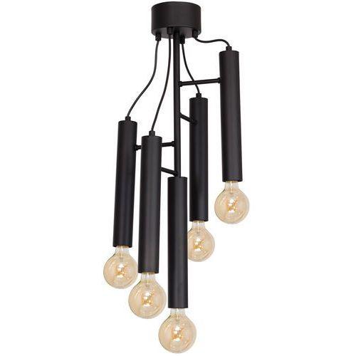 Plafon Bissa 5 x 60 W E27 black, 8949