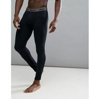 harrier baselayer tights in black - black marki Marmot