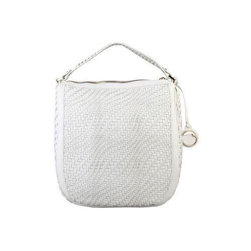 Torebka listonoszka damska CAVALLI CLASS -C41PWCBU0022-16, kolor biały