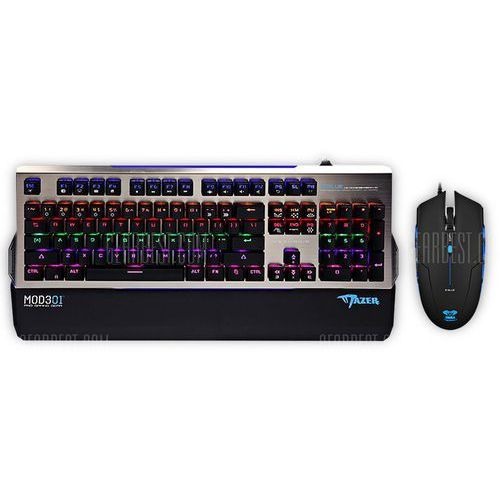 E - 3lue k829 optical mechanical keyboard mouse combo marki Gearbest
