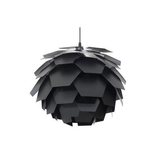 Lampa wisząca czarna segre marki Beliani
