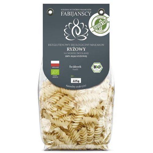 Fabijańscy (makarony) Makaron (z ryżu białego) świderki fusilli bezglutenowy bio 225 g - fabijańscy