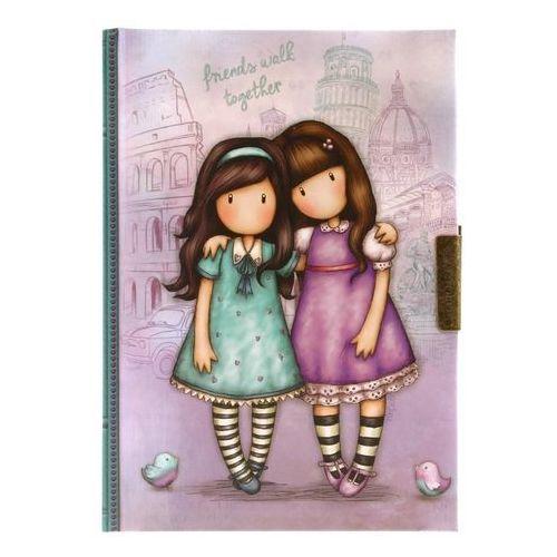Santoro Zamykany notes - friends walk together (5018997621424)