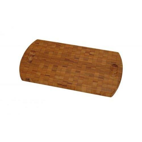 Zwilling j.a.henckels Owalna bambusowa deska do krojenia 400 x 30 x 200 mm