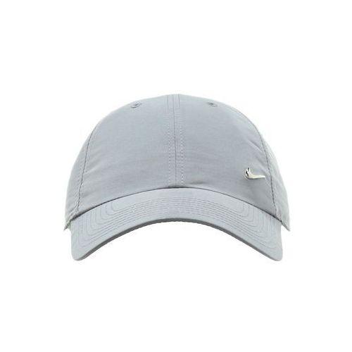 Nike Sportswear HERITAGE Czapka z daszkiem cool grey z kategorii Pozostała odzież sportowa