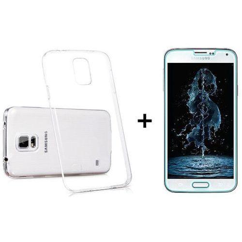 Zestaw obudowa ultra slim przezroczysta + szkło ochronne perfect glass samsung galaxy s5 / s5 neo marki Ultra slim / perfect glass