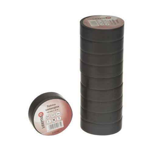 Lexman Taśma izolacyjna 15 mm x 5 m czarna 220086 (5901602192719)