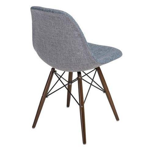 Krzesło p016w duo inspirowane dsw dark - niebieski ||szary marki D2.design