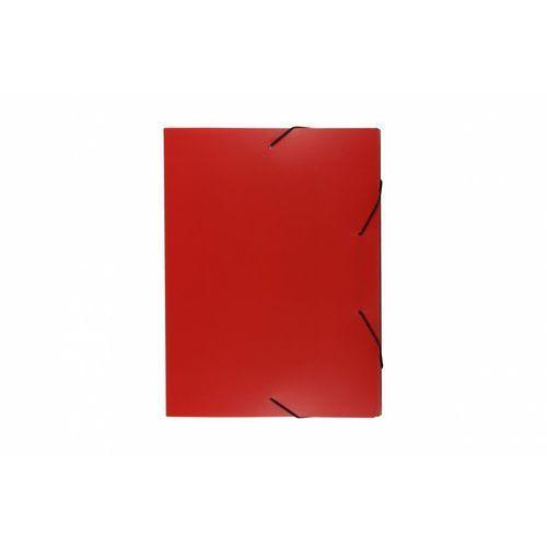 Biurfol Teczka skrzydłowa z gumką tg-03-01 czerwona