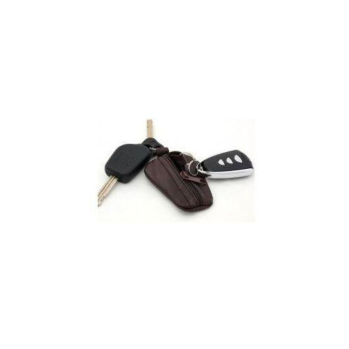 Małe etui na pilota do samochodu lub klucze - skóra naturalna, marki Firma