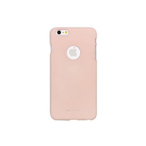 Apple iPhone 6 Plus - etui na telefon Mercury Goospery Soft Feeling - piaskowy róż