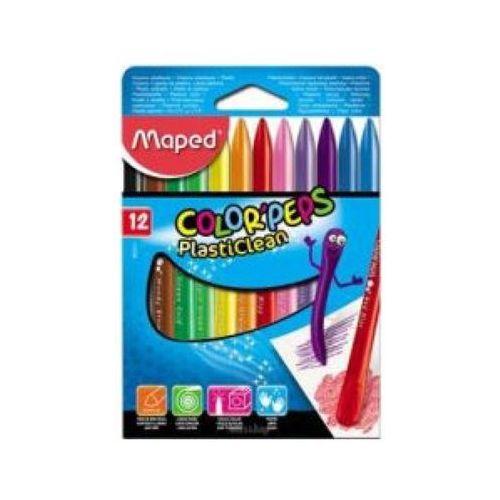 Kredki Maped Colorpeps 12Szt Plastikowe - - (3154148620112)