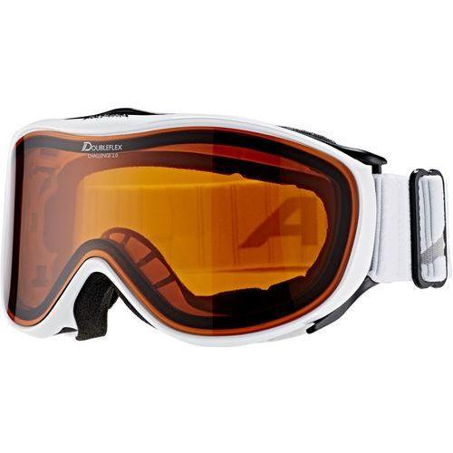 challenge 2.0 doubleflex s2 gogle biały 2018 gogle narciarskie marki Alpina