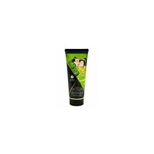 Jadalny krem do masażu Shunga Pear & Exotic Green Tea 200 ml, 8403500