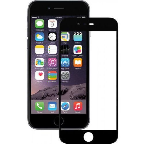 Mocolo Szkło hartowane 3d full cover tempered glass iphone 6/6s black (2000050575013)