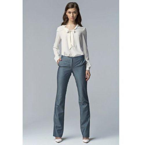Spodnie damskie model sd20 jeans, Nife