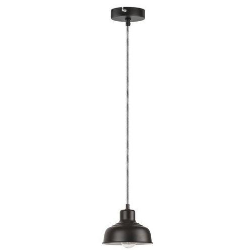 Lampa wisząca zwis oprawa Rabalux Owen 1X60W E27 czarna 2789, 2789