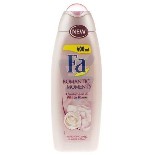 Fa Romantic Moments Żel pod prysznic Caschmere & White Rose 400 ml, 68834162
