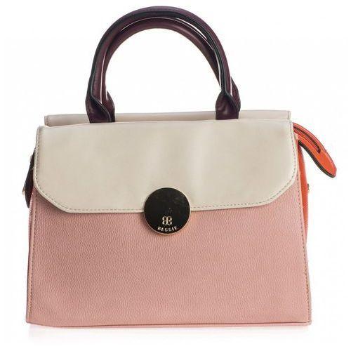 torebka damska różowa marki Bessie london