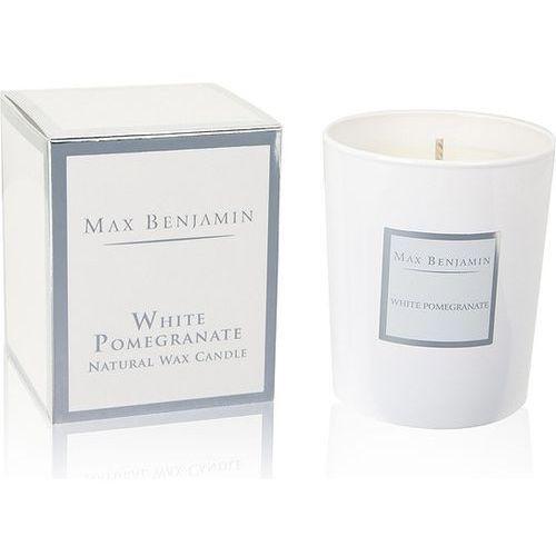 Świeca white pomegranate marki Max benjamin