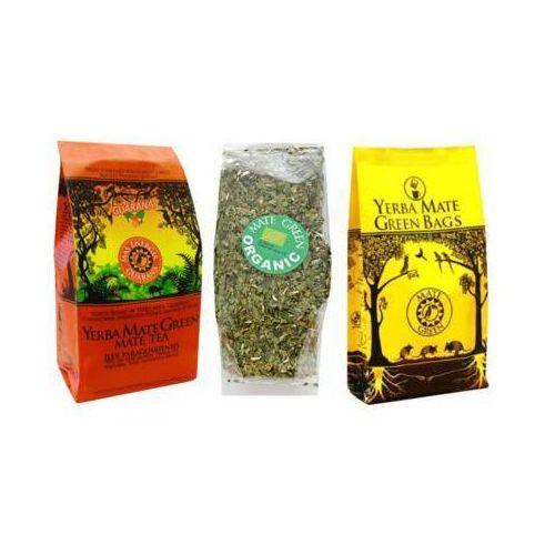 Zestaw mas energia guarana 400g + organic bio 50g + cocido big bag despalada 7 saszetek marki Yerba mate green